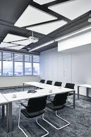 design meets akustik im büro deckengestaltung wohnzimmer
