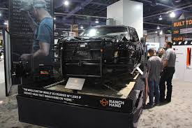100 Wrecked Truck SEMA 2018 Ranch Hands Showcases What A Bumper Can Do
