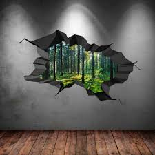 D S Painting Ists 3d Wall Art Illusions