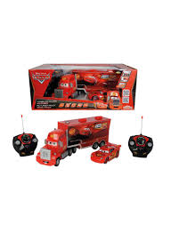 Shop Disney Cars, Cars RC Turbo Mack Truck And Lightning McQueen ...