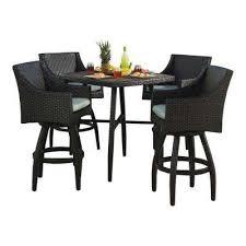 wicker bar height patio set sunbrella fabric outdoor bar furniture patio furniture the