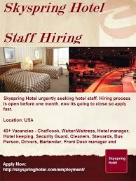 Front Desk Manager Salary In Dubai by Job Vacanicies The Management Of Skyspring Hotel Is Currently