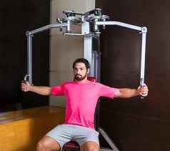pec deck fly substitute what muscles does the pec fly machine work livestrong