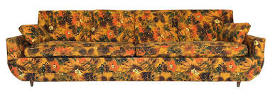 Used Castro Convertible Sofa Bed by 1967 Vintage Bernard Castro Mid Century Modern Floral Sleeper Sofa