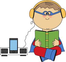 Student Listening Center Clipart