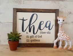 Personalized Rustic Wood Name Sign