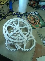 download free scroll saw wooden gear clock plans plans free