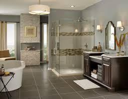 brown tile bathroom paint
