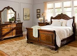 Catalina 4 pc Queen Bedroom Set Cognac