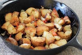 Skillet Home Fries Crispy Breakfast Potatoes No 2 Pencil