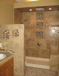 pebble shower niches i would like to use pebbles but think they