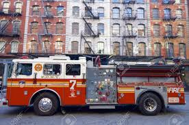 100 New York Fire Trucks USA December 31 2007 A Truck From The Stock