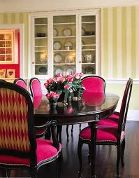 Bold Color Scheme. Dining Room Furn... - Gallery - 1 | Trends Oxford Velvet Side Chair Pink Set Of 2 Us 353 17 Off1 Set Vintage Table Chairs For Dolls Fniture Ding Sets Toys Girl Kid Dollin Accsories From Glass Pressed Argos Green Dressing Raymour Exciting Navy Blue Pating Dark Stock Photo Edit Now Settee Near Black At In Flat Zuo Modern Merritt 1080 Living Room Ideas Designs Trends Pictures And Inspiration Shabby Chic White Extendable Ding Table With 6 Pink Floral Chairs In Middleton West Yorkshire Gumtree Painted Metro Room 4pcs Stretch Covers Seat Protector