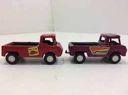 Vintage Tootsie Toys Pick-up Trucks Vintage Tootsie Toy Fire Trucks Country Tazures Toys Pickup Trucks Lot 9 Vtg 1970s Diecast Plastic Jeep Uhaul Panel Otsietoy Red Hook And Ladder Truck Facing Front Right Otsietoy Aerial With Extension 1940s Tootsietoy 236 Lofty Antique Water Tower 1920s 4 Color Version Hubley Ladders From The 1930s For Sale Pending Prewar Tootsietoys Article By Clint Seeley