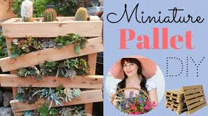 Pallet Garden How To Make A Miniature With 2x4s