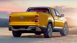 Volkswagen Tanoak Pickup Truck Production Renderings