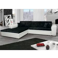 canapé noir et blanc meuble de salon canapé canapé d angle noir blanc sofamobili