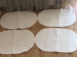badezimmermatten in weiss ikea