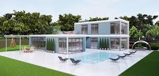 100 Container Dwellings BAUHU Prefabricated Modular Construction Bauhu Modular