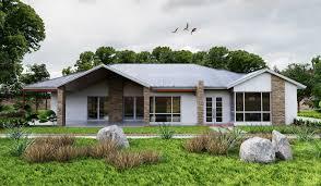 100 Rural Design Homes AURORA3drurallivingdesigncustomgablebuildfront