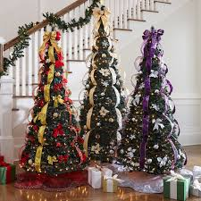 6ft Pre Lit Christmas Trees Black by The Benefits Of Pre Decorated Christmas Trees Itsbodega Com