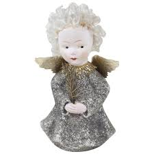 1940s Christmas Angel Tree Topper 6 1 2