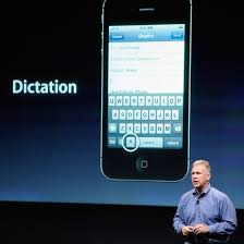 Setting Voice Text on an iPhone Keyboard