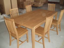 100 6 Oak Dining Table With Chairs Oslo Seater Choice Of Cream