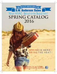 Ceiling Radiation Damper Boot by Spring Catalog Sw Anderson Sales 2016 By Sw Anderson Sales Issuu