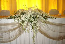 Elegant Floral Centerpieces Arrangements For Head Tables