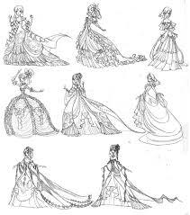 Rosalies Ballroom Gowns By Ebonysnowwhite On DeviantArt