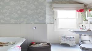 Wallpaper Ideas For Bathrooms 2017 – Home Decor Ideas Neutral Graphic Wallpaper Takes This Small Bathroom From Basic To Bold Removable Wallpaper Patterns For Small Bathrooms The Alluring Bathroom Bespoke Best Wall Covering For Ideas Waterproof Walllpaper Paper Glamorous With 3d Porcelain Tile Ideas 342 Full Hd Wide 40 Design Top Designer Fascating Grey Virtual Remodel Dream 17 Stylish Victorian Plumbing Black And White Hawk Haven