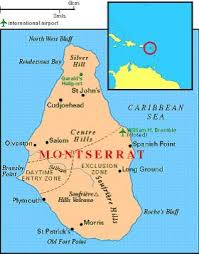 Montserrat Is A Caribbean Island That British Overseas Territory It Located In West IndiesBritish