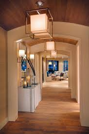 hallway light fixture contemporary with seating area