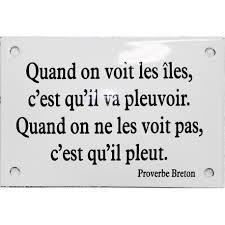 proverbe cuisine humour émaillée humoristique proverbe breton