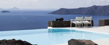 100 Aenaon Villas Infinity Pool Villa Santorini Outdoor Decor