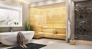 moderne badezimmer erholungsräume und kleine spa tempel