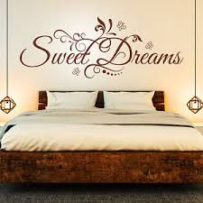 details zu wandtattoo sweet dreams süße schöne träume schlafzimmer wandaufkleber deko