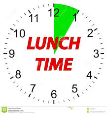 Lunch Time Clock God Breaking Chains Clipart Banner Transparent
