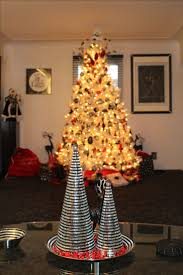 Frontgate Christmas Tree Replacement Bulbs by 238 Best Black U0026 White Christmas Tree Ideas Images On Pinterest