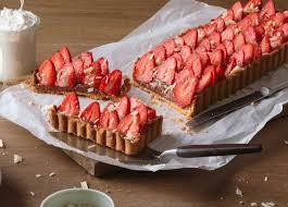 erdbeer schoko kuchen