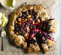 Rustic Harvest Fruit Tart