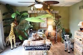 chambre bebe jungle decoration jungle urbaine idées déco chambre enfant guide d