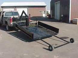 sled deck r build snowmobile atv decks