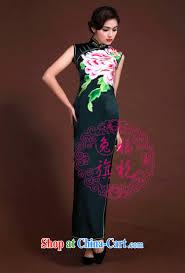 once and for all high end custom manual cheongsam dress girls