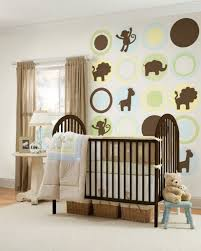 pink and grey nursery rug wall mounted shelves large light
