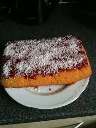 Jam and coconut sponge cake recipe All recipes UK