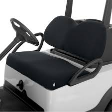 Terry Cloth Lounge Chair Cushion Covers by Classic Accessories Fairway Golf Cart Seat Cover Terry Cloth