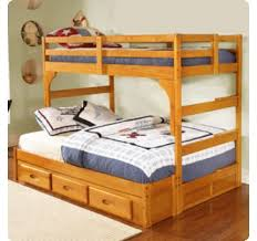 discovery world furniture honey twin over full mission bunk bed