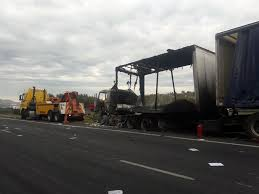 100 The Burnt Truck Shocking Images Of Burntout And Looted Trucks On The N3